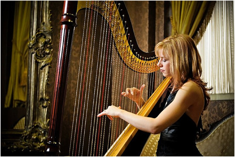 Toronto Wedding Harpist Chantal Dubé