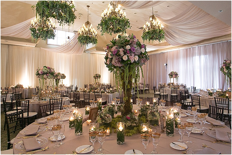 Suspended Wedding Decor