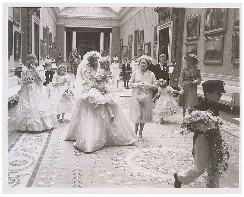 Never-been-seen Princess Diana & Prince Charles Wedding