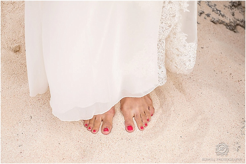 Champion Figure Skater Wedding In Bermuda From Rowell Photography